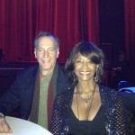 With Margaret Avery